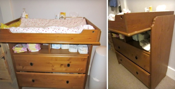 Captivating IKEA Changing Table + Dresser   $40   U201cNecessity Never Made A Good  Bargain.u201d  Benjamin Franklin. U201c