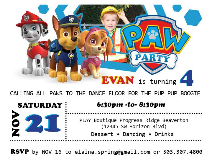 Evan4BdayInvite