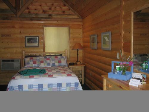 Home away from home!  The cabins are immaculate.